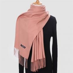 Lyserødt-tørklæde